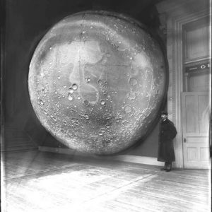 Field Columbian Museum Moon Model, unknown photographer, 1898.  Excerpt Magazine's Issue 5 cover image