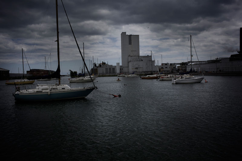 A nuclear plant, © Mike Berube