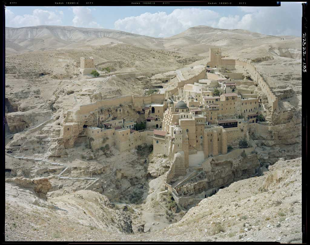 © Stephen Shore, St. Sabas Monastery, Judean Desert , 2009
