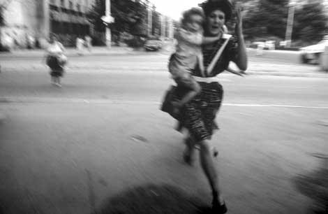 Sarajevo undr Siege, Paul Lowe