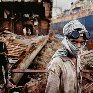 © Steeve McCurry. India. Bombay. 1994. Young Welder.