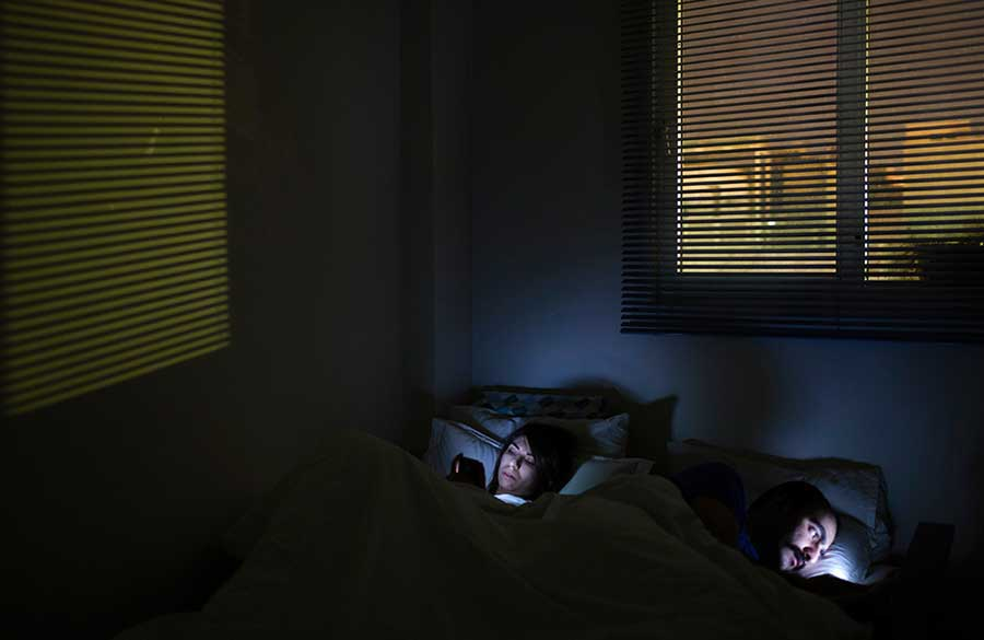 © Hanif SHOAEI - Technology in Bed, 2014