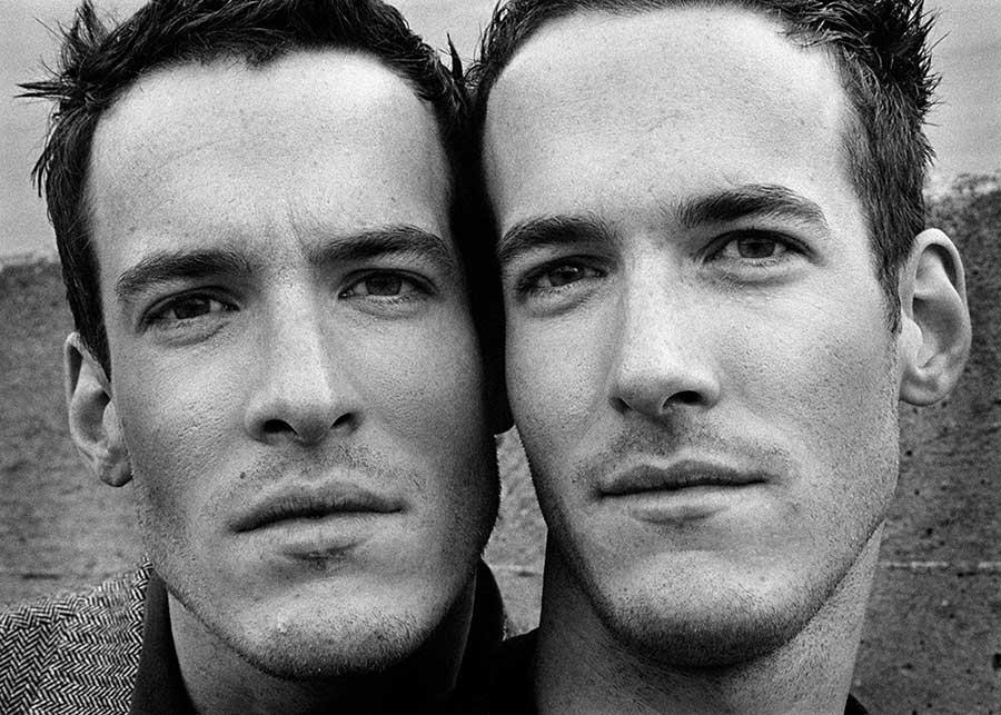 © Marina Bacigalupo / Agence VU'. Walter and Benjamin (From the series Hito) 2005.