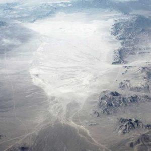 """American Desert - September 2013. Aerial desert landscape """"Untitled #01""""."""
