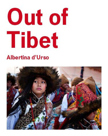 "the cover ot the book ""Out of Tibet""."