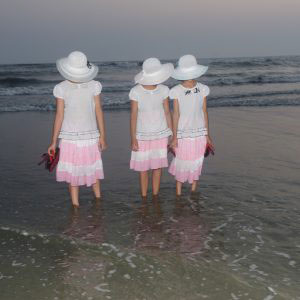 Coxbazar,Bangladesh-April 14.Girls taking  Photos in the beach