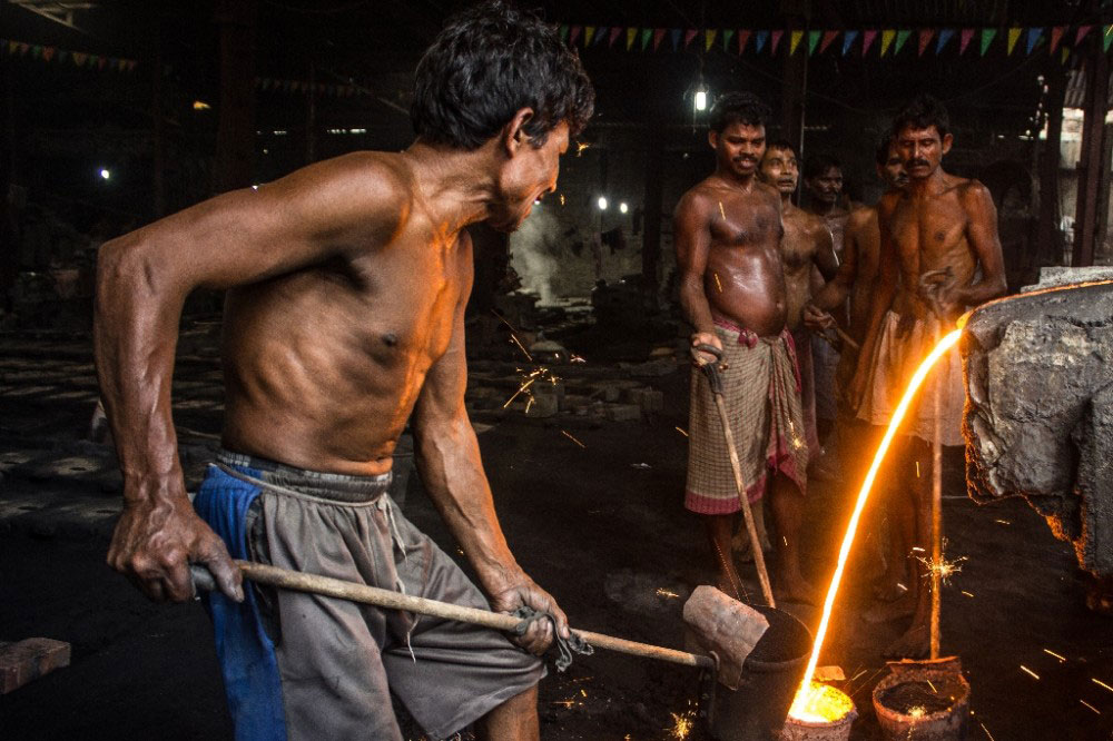 Kolkata,India-July 2015.They love their job