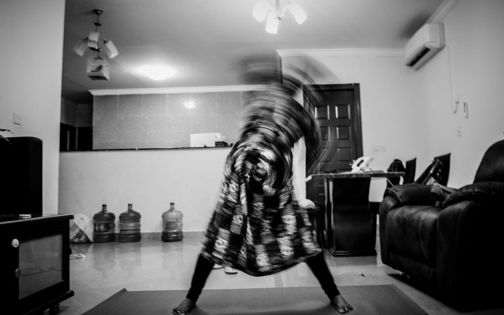 Al-Wakra, Qatar, April 2016 – Recovery from depression, the yoga way
