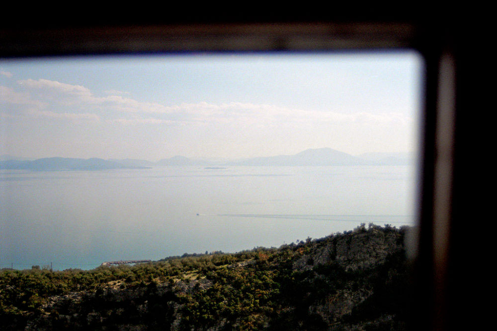 View of Pagasetic gulf, Pelion, Greece, March 2015