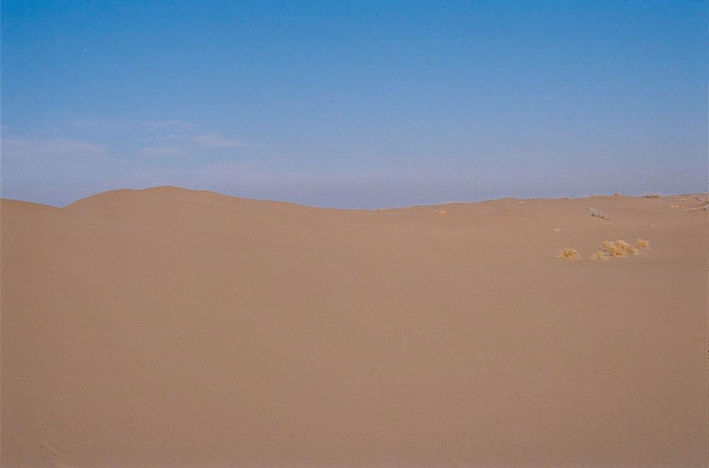 Sand dune in Maranjab desert, Kashan, Iran, November 2015