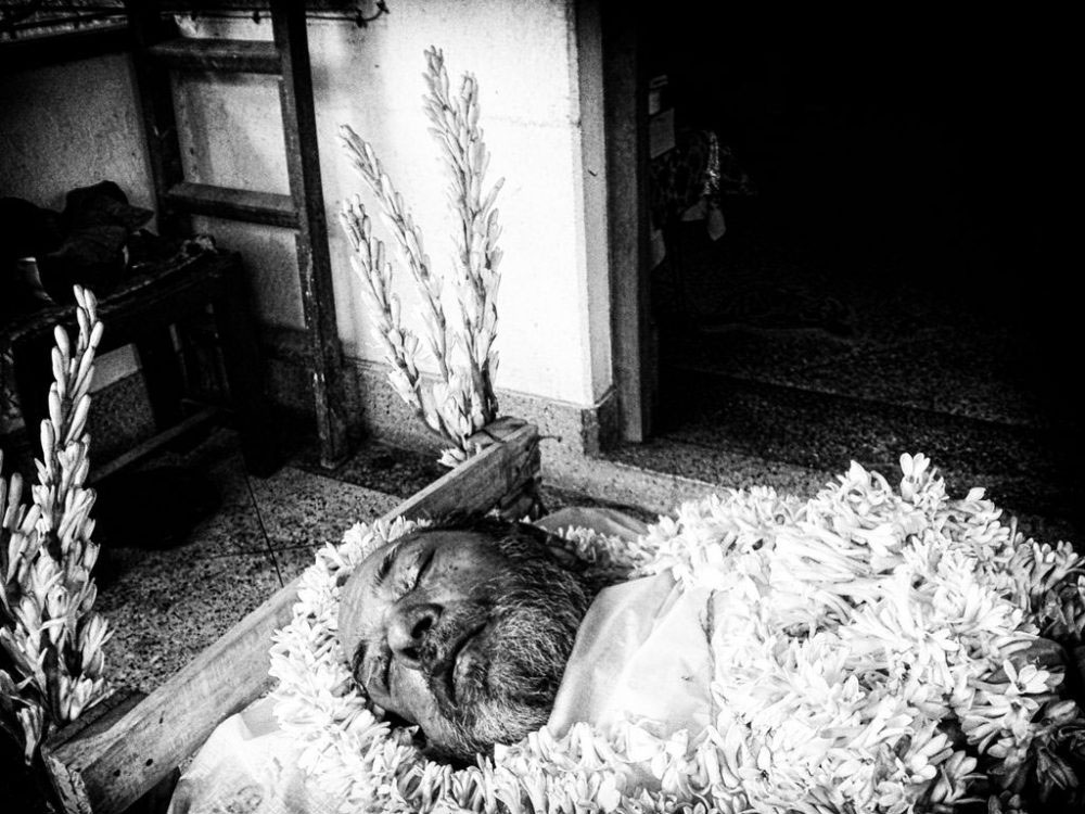 KOLKATA, INDIA - 2015; of the deceased
