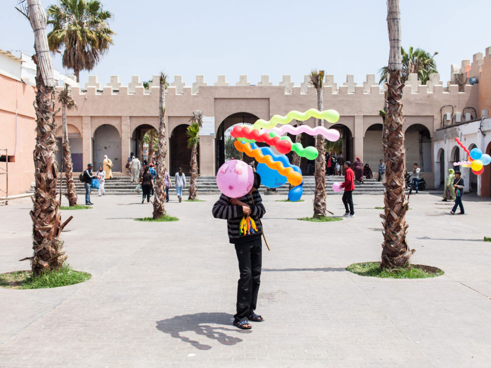 Agadir, Morocco - Avril 2013