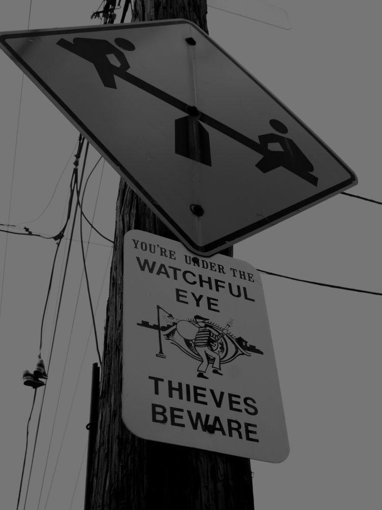 Thieves Beware
