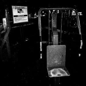Bandung, Indonesia - November 2016. Abandoned Playground.