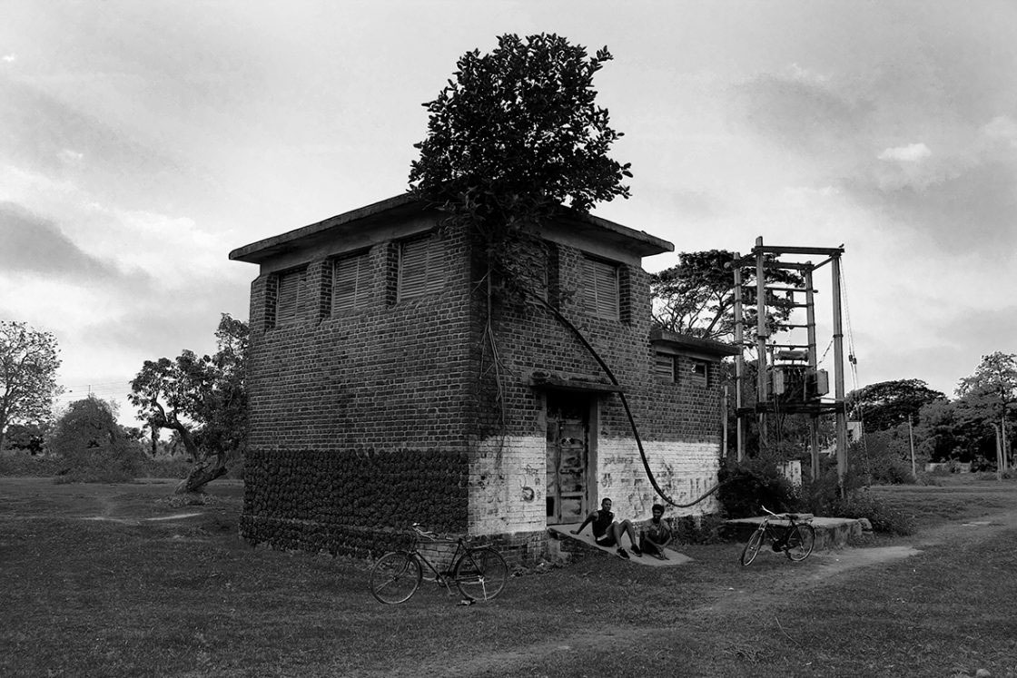 Dunlop's Sahaganj Estate May, 2015 - Power House of the Historical Estate... Now Powerless with Huge Dues Pending