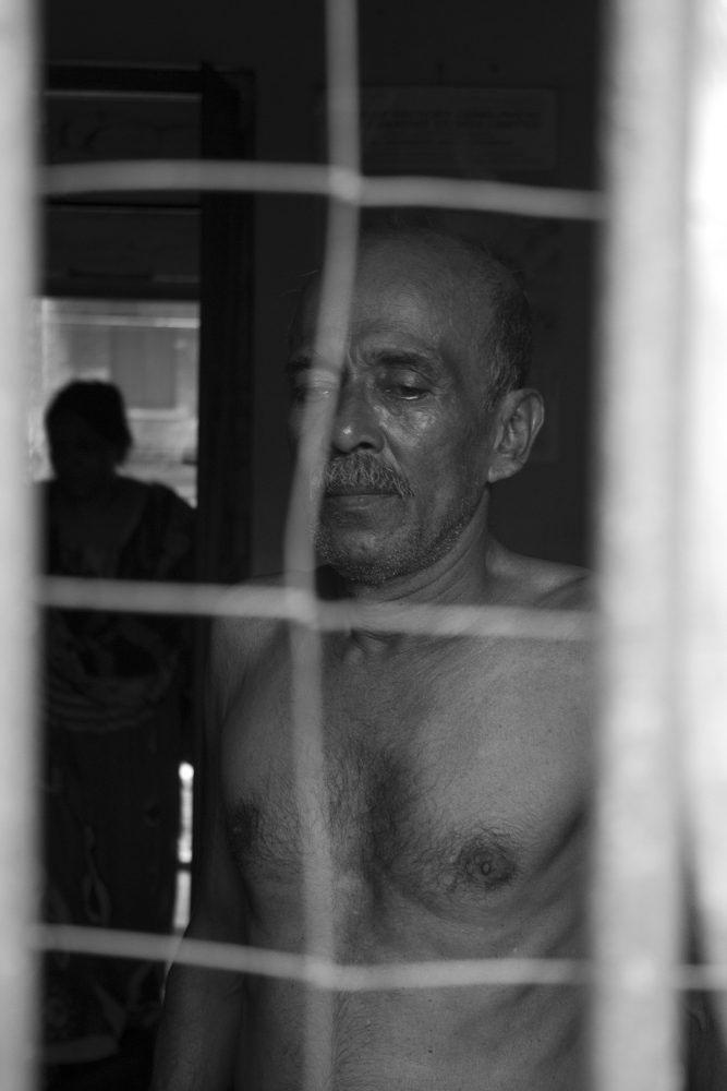 Dunlop's Sahaganj Estate June, 2016 - Santosh Saha of the Electric Department still hopes that his retirement dues be settled