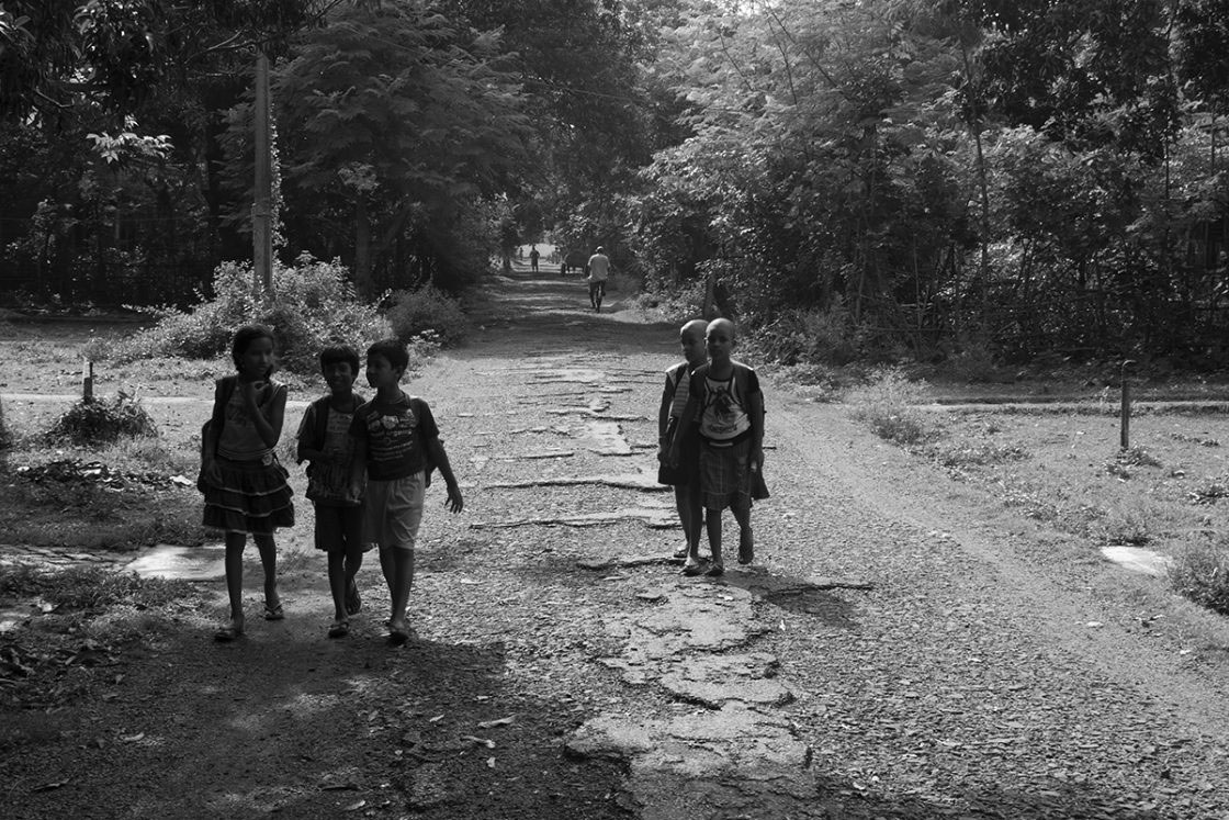 Dunlop's Sahaganj Estate June, 2016 - Progressive Quest of Learning Continues amidst Ruins...