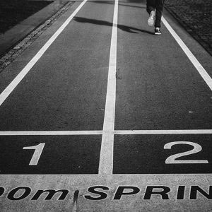 Life is like a sprint