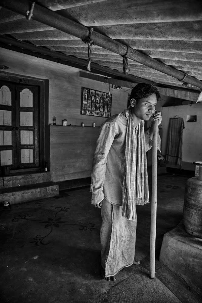 Jaypal, 26 years old, lives in Chati Kocha village