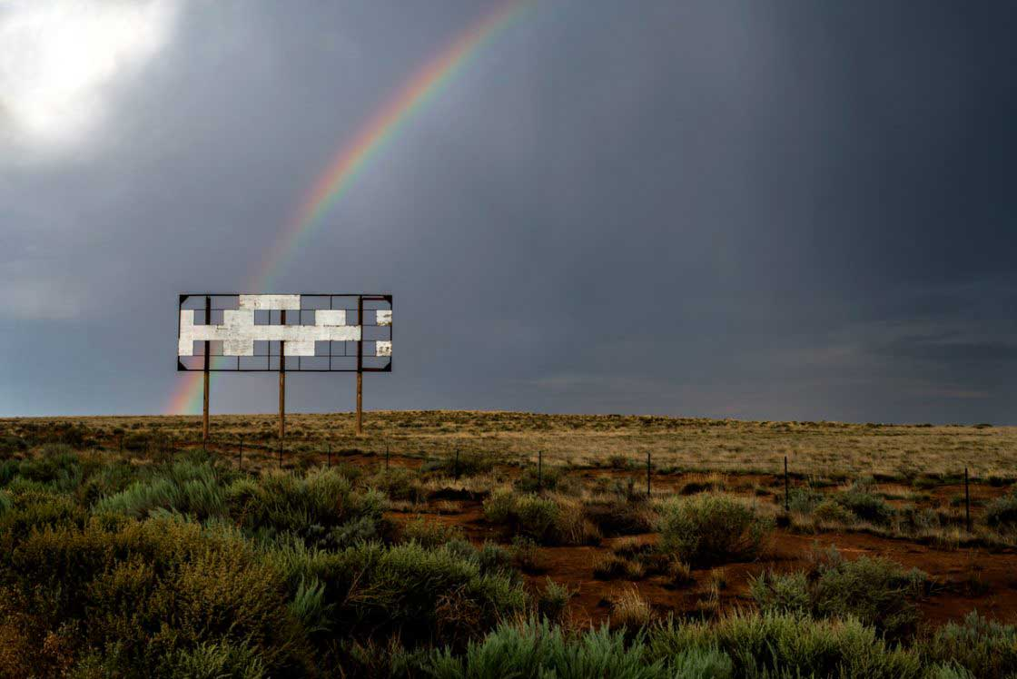 Billboard I-40, Gallup, New Mexico