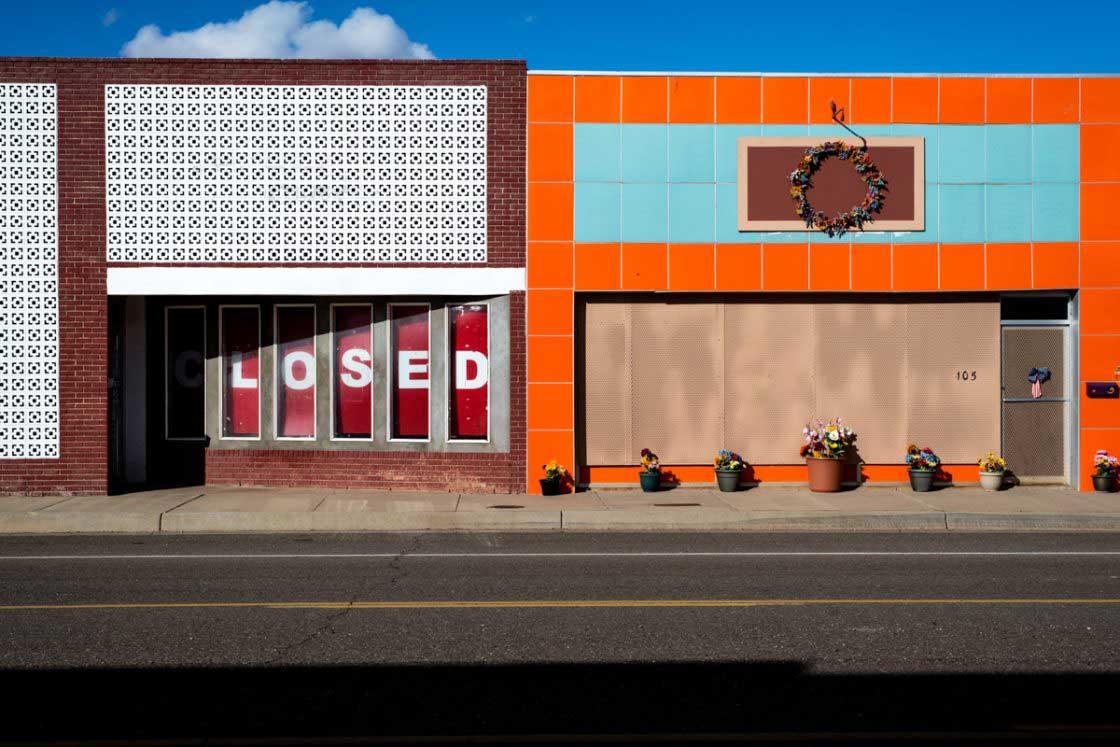 Storefront, Tucumcari, New Mexico